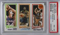 Bobby Jones, Clifford Ray, Ben Poquette [PSA 8 NM‑MT]