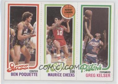 1980-81 Topps - [Base] #BPMCGK - Ben Poquette, Maurice Cheeks, Greg Kelser
