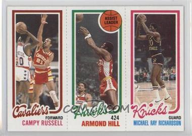 1980-81 Topps - [Base] #CRAHMR - Campy Russell, Armond Hill, Mike Ray Richardson