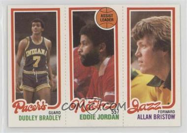 1980-81 Topps - [Base] #DBEJAB - Dudley Bradley, Allan Bristow, Eddie Jordan