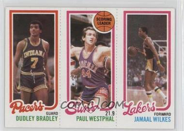 1980-81 Topps - [Base] #DBPWJW - Dudley Bradley, Paul Westphal, Jamaal Wilkes