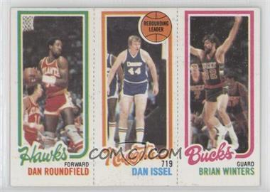 1980-81 Topps - [Base] #DRDIBW - Dan Roundfield, Dan Issel, Brian Winters