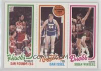 Dan Roundfield, Dan Issel, Brian Winters