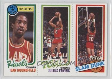 1980-81 Topps - [Base] #DRJERB - Dan Roundfield, Julius Erving, Ron Brewer