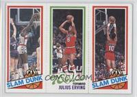 Slam Dunk Star (Elvin Hayes), Julius Erving, Slam Dunk Star (Ron Brewer) [Good&…