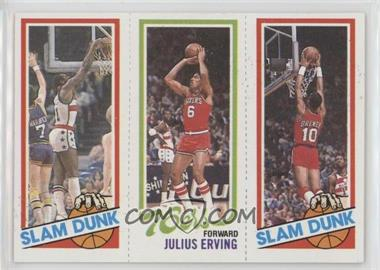 1980-81 Topps - [Base] #EHJERB - Slam Dunk Star (Elvin Hayes), Julius Erving, Slam Dunk Star (Ron Brewer)