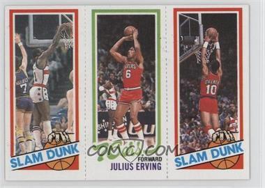 1980-81 Topps - [Base] #EHJERB - Slam Dunk Star (Elvin Hayes), Julius Erving, Slam Dunk Star (Ron Brewer)