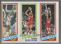 Slam Dunk Star (Elvin Hayes), Julius Erving, Slam Dunk Star (Ron Brewer) [Good&…