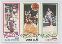 Earl Monroe, Terry Tyler, James Silas