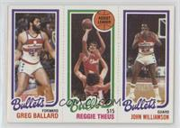Greg Ballard, Reggie Theus, John Williamson