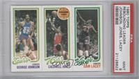 George Johnson, Caldwell Jones, Sam Lacey [PSA 9]