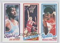 Bobby Jones, Moses Malone, Joe Bryant