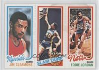 Jim Cleamons, James Edwards, Eddie Jordan