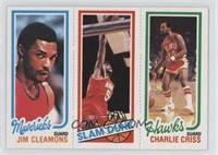 Charlie Criss, Robert Reid, Jim Cleamons