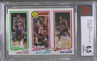 John Long, Magic Johnson, Ron Boone [BVG 6.5]