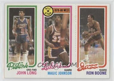 1980-81 Topps - [Base] #JLMJRB - John Long, Magic Johnson, Ron Boone