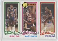 John Long, Magic Johnson, Ron Boone