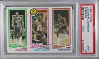 John Long, Magic Johnson, Ron Boone [PSA 9]