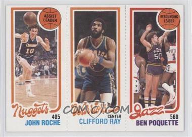 1980-81 Topps - [Base] #JRCRBP - John Roche, Clifford Ray, Ben Poquette