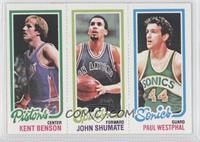 Kent Benson, John Shumate, Paul Westphal
