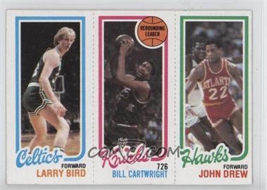 1980-81 Topps - [Base] #LBBCJD - Larry Bird, Bill Cartwright, John Drew
