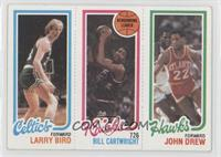 Larry Bird, Bill Cartwright, John Drew [GoodtoVG‑EX]