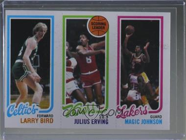 1980-81 Topps - [Base] #LBJEMJ - Larry Bird, Julius Erving, Magic Johnson