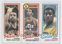 Mike Bantom, Adrian Dantley, James Bailey