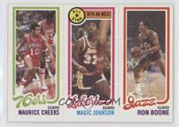 Maurice Cheeks, Magic Johnson, Ron Boone