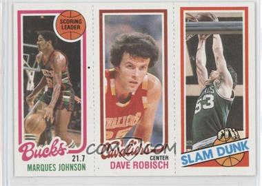 1980-81 Topps - [Base] #MJDRRR - Marques Johnson, Dave Robisch, Rick Robey
