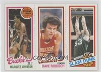 Marques Johnson, Dave Robisch, Rick Robey
