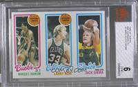 Marques Johnson, Larry Bird, Jack Sikma [BVG 6 EX‑MT]