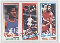 Maurice Lucas, Abdul Jeelani, Julius Erving