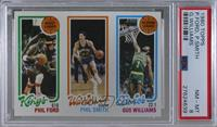 Phil Ford, Phil Smith, Gus Williams [PSA 8 NM‑MT]