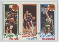 Phil Ford, Phil Smith, Gus Williams