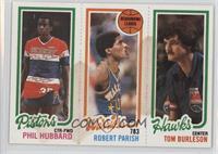 Phil Hubbard, Robert Parish, Tom Burleson [Poor]