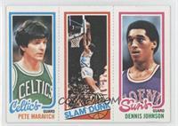 Pete Maravich, Slam Dunk Stars (Lloyd Free), Dennis Johnson [Goodto…