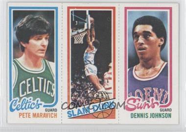 1980-81 Topps - [Base] #PMWFDJ - Pete Maravich, Slam Dunk Stars (Lloyd Free), Dennis Johnson