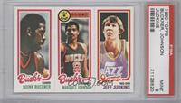Quinn Buckner, Marques Johnson, Jeff Judkins [PSA 9]