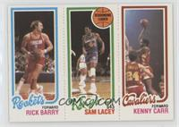 Rick Barry, Sam Lacey, Kenny Carr