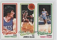 Roger Phegley, Terry Tyler, James Silas