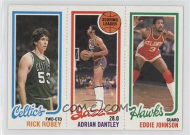 1980-81 Topps - [Base] #RRADEJ - Rick Robey, Adrian Dantley, Eddie Johnson