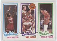 Robert Reid, Wes Unseld, Reggie Theus