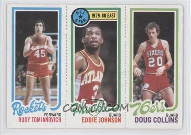 1980-81 Topps - [Base] #RTEJDC - Rudy Tomjanovich, Eddie Johnson, Doug Collins