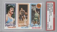 Swen Nater, Phil Smith, Gus Williams [PSA 9]