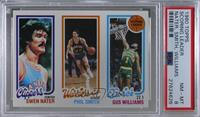 Swen Nater, Phil Smith, Gus Williams [PSA 8 NM‑MT]