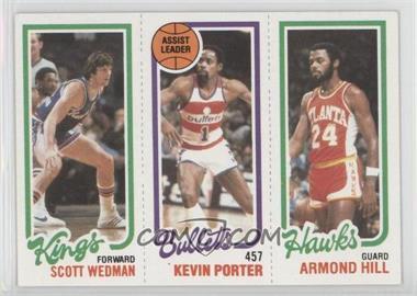 1980-81 Topps - [Base] #SWKPAH - Scott Wedman, Kevin Porter, Armond Hill