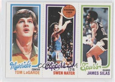 1980-81 Topps - [Base] #TLSNJS - Tom LaGarde, Swen Nater, James Silas