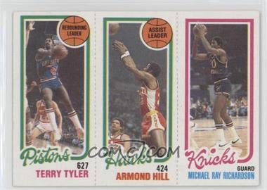 1980-81 Topps - [Base] #TTAHMR - Terry Tyler, Armond Hill, Micheal Ray Richardson