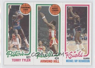 1980-81 Topps - [Base] #TTAHMR - Terry Tyler, Armond Hill, Micheal Ray Richardson